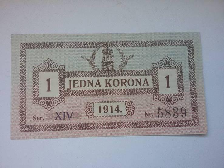 1 korona 1914 Lwow, фото №2