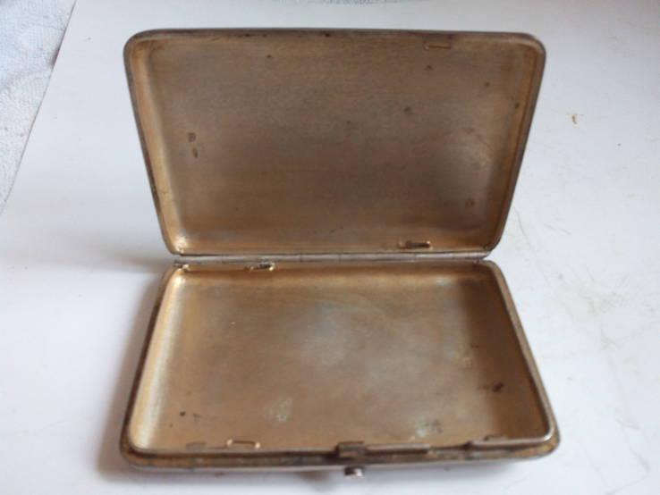 Портсигар серебро 84, фото №4