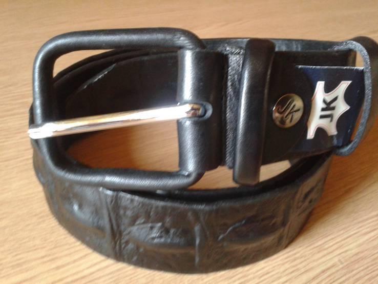 Ремень кожаный JK,117 см