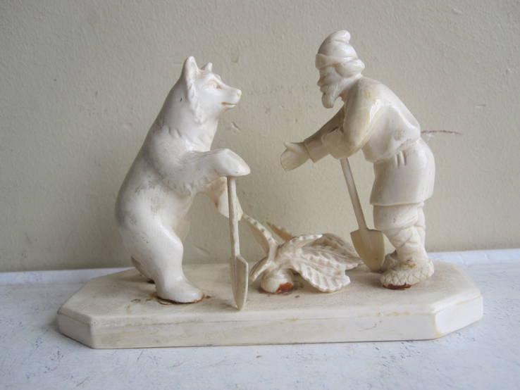 Мужик и Медведь. (Вершки и корешки)., фото №2