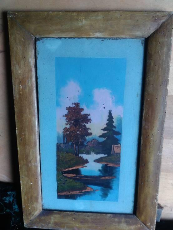 Живопись на стекле