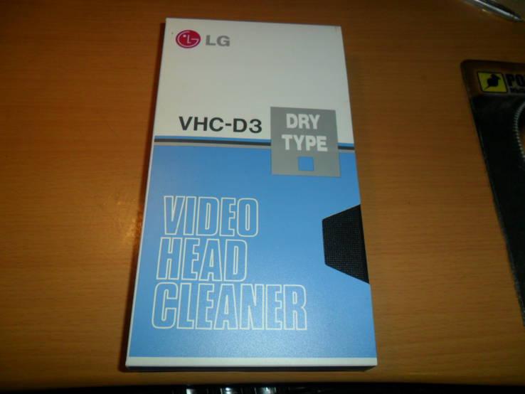 Видеокассета чистящая видео кассета LG VHC-D3, фото №2