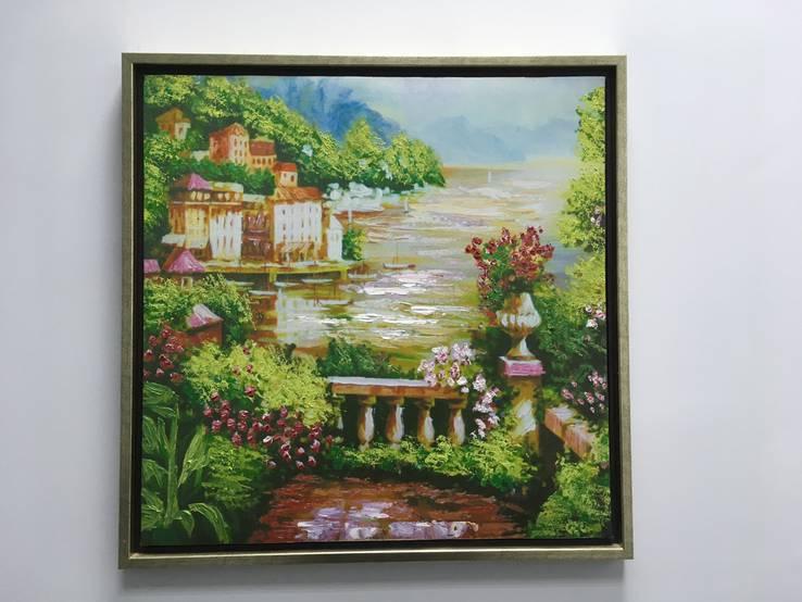 "Картина ""берега Италии"""