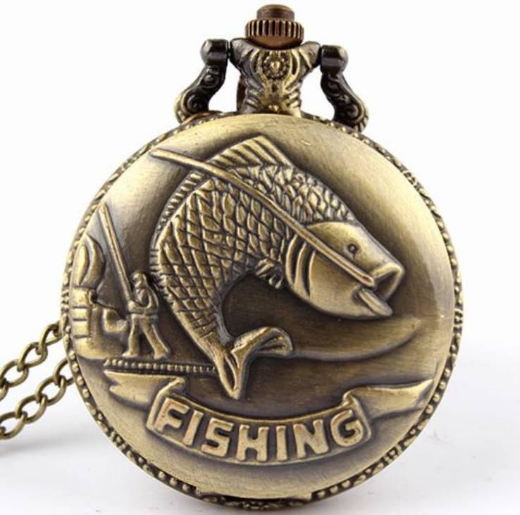 Карманные часы для рыбака
