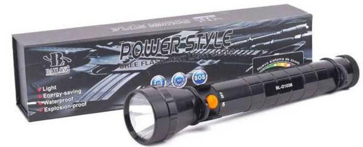 Фонарь Bailong D1038C-CREE 3W + аккумуляторная батарея