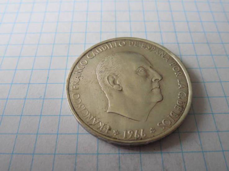 100 ptas 1966г. Испания, фото №5