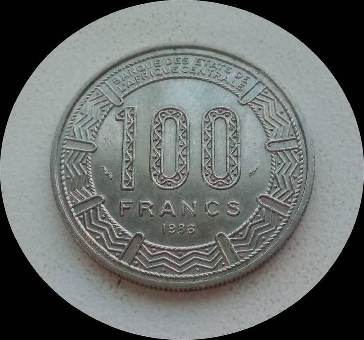 Камерун 100 франков 1986 г.