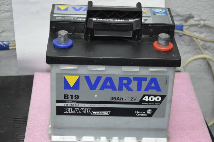 Аккумулятор Varta Black Dynamic B19 45Ah-12v Новый