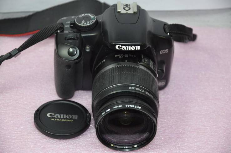 Canon EOS 450D + kit 18-55 пробег 1500