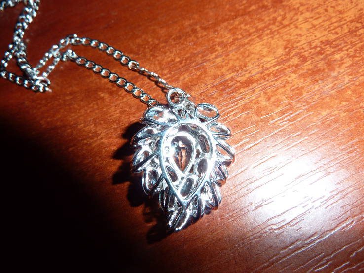 Ожерелье с голубыми топазами, фото №4