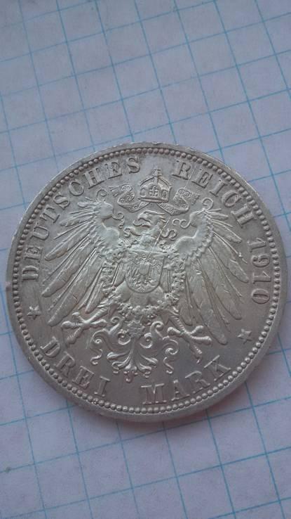 3 марки 1910 год, фото №4