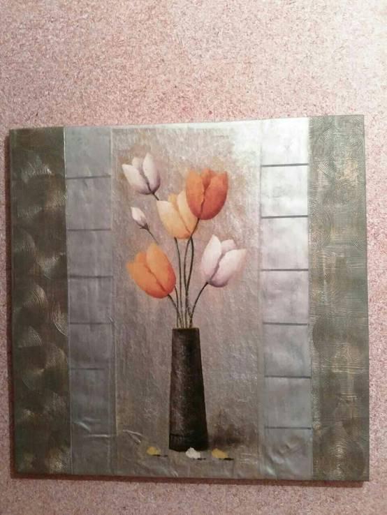 Картина Тюльпаны 1м*1м