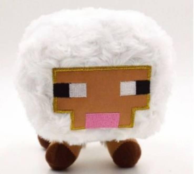 Мягкая игрушка овечка майнкрафт