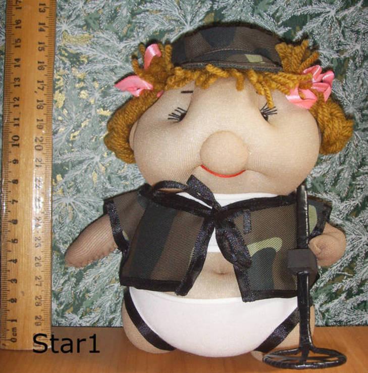 Кукла кладоискательница девченка. Авторская, ручная работа., фото №2