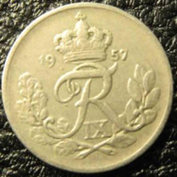 10 оре Данія 1957