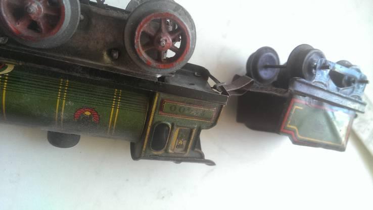 Игрушка машинка  паровоз звезда Чкалов Перемышль герб 11 республик, фото №3