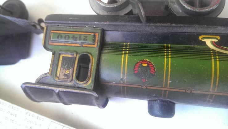 Игрушка машинка  паровоз звезда Чкалов Перемышль герб 11 республик, фото №11