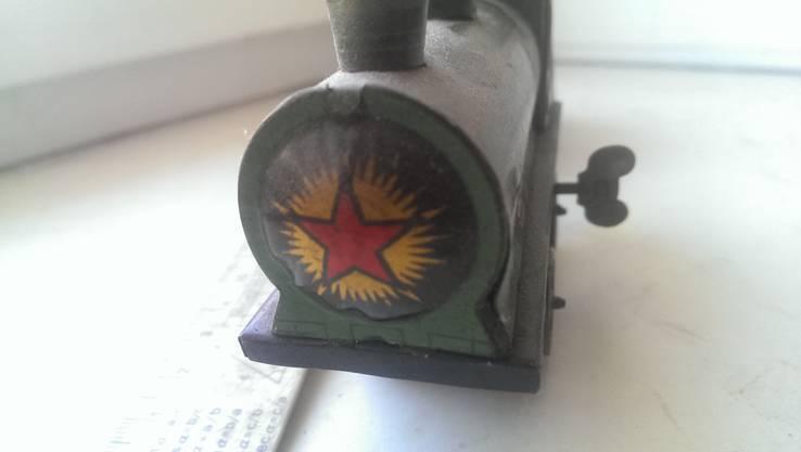 Игрушка машинка  паровоз звезда Чкалов Перемышль герб 11 республик, фото №12