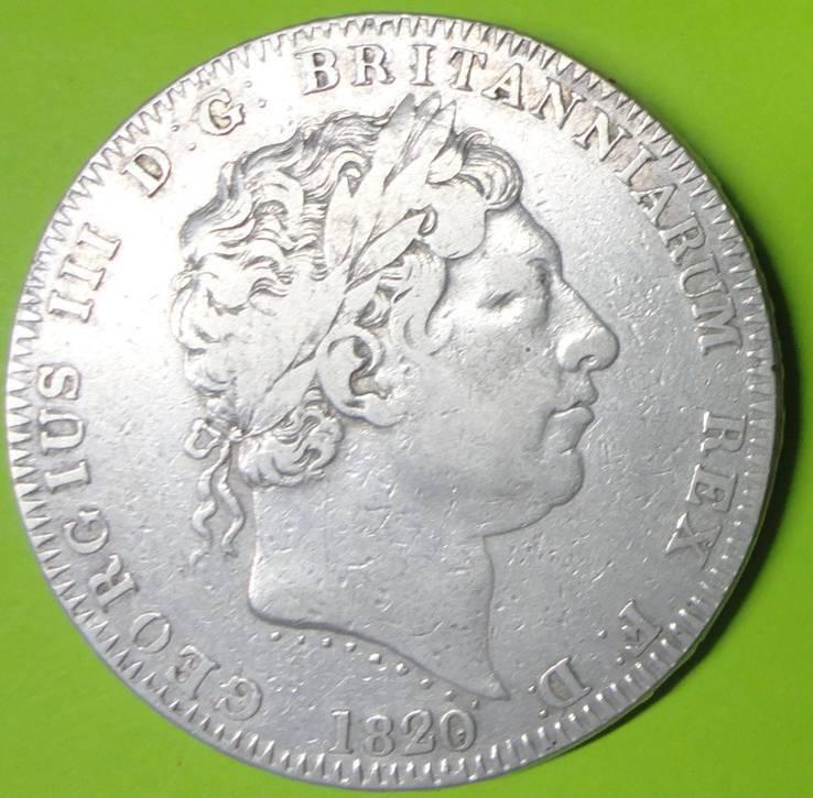 Крона 1820г.LX  Великобритания VF