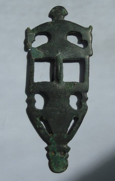 Фибула Пастырского типа, вторая половина 7 века