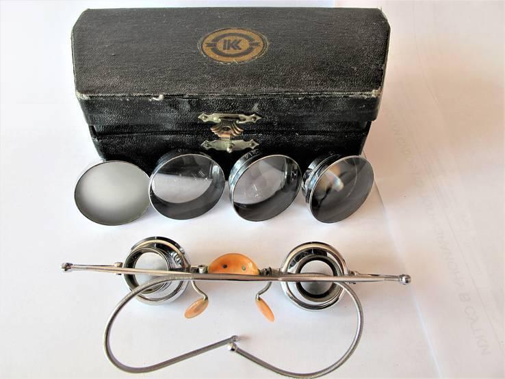 Бинокулярные старинные очки