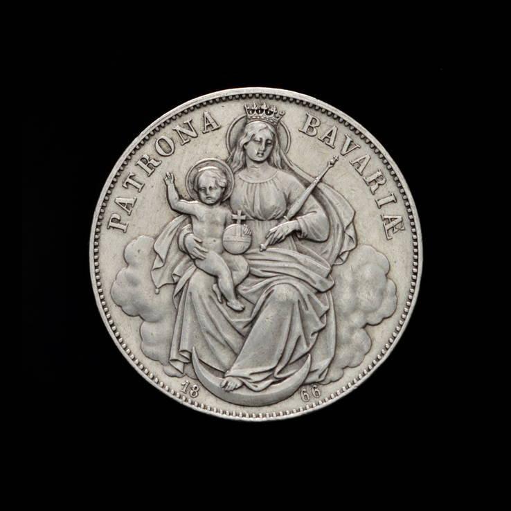 Талер 1866 Мадонна, Бавария