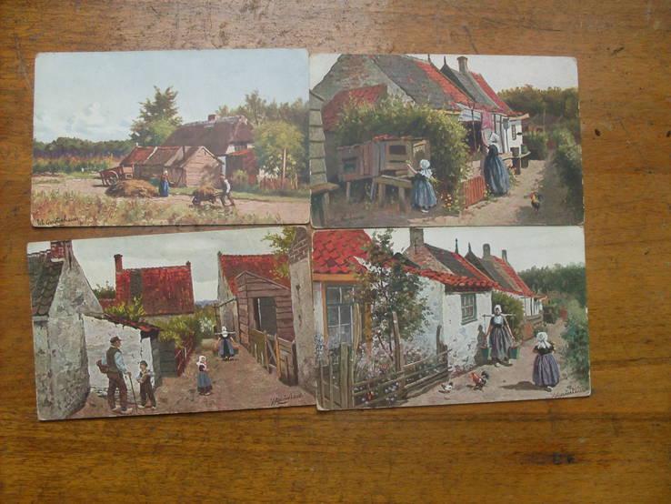4 открытки