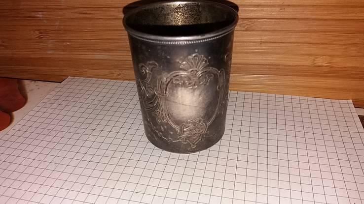 Стариный серебряный стакан и.п.п