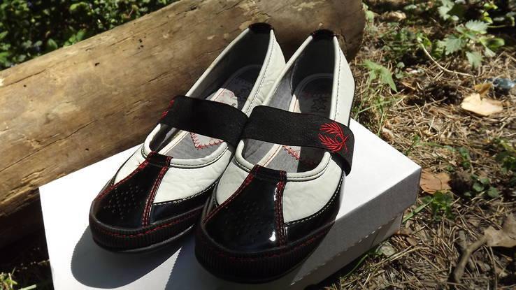 Туфли кожаная подкладка Cortina 39 размер