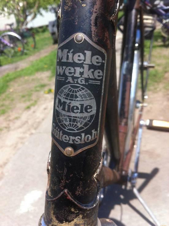 Велосипед Miele очень редкий и старенький