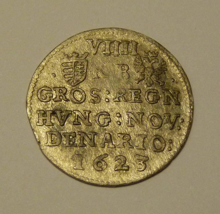Лот № 15 8 денариев (3 гроша) 1623 г., Фердинанд 2, Венгрия