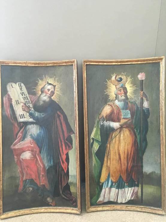 Иконы праотцев Моисея и Аарона