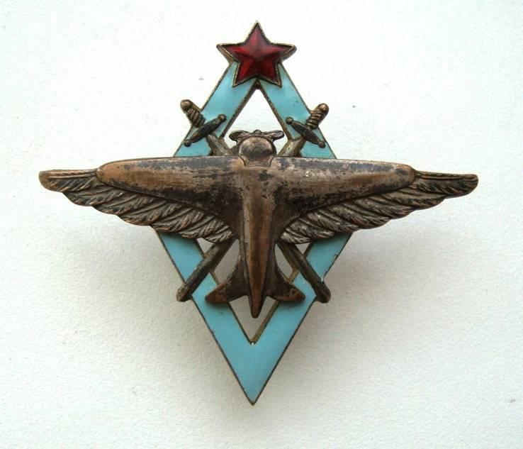 Знак летчика военных авиационных училищ ВВС РККА 20 годы