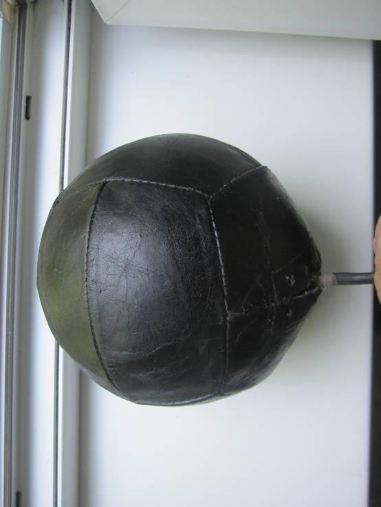 Кожаный мяч, фото №4