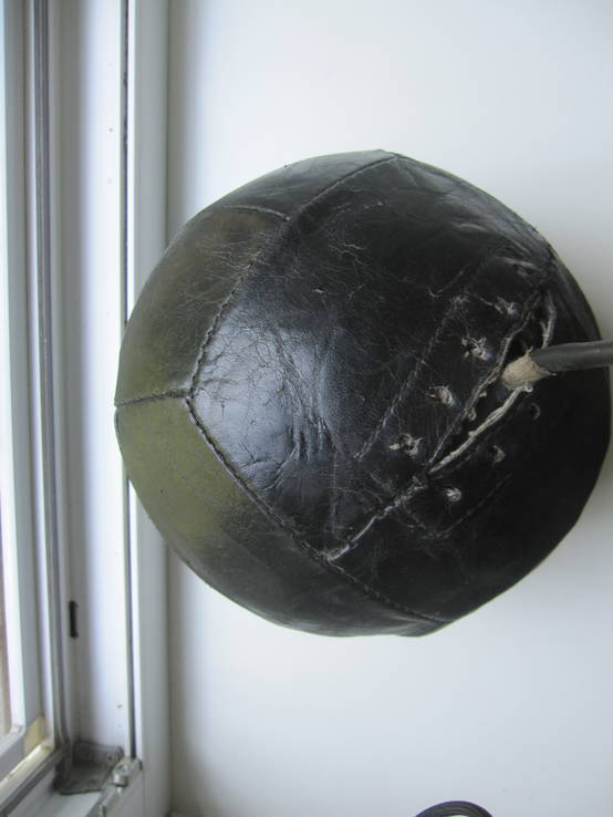 Кожаный мяч, фото №5