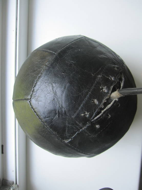 Кожаный мяч, фото №6