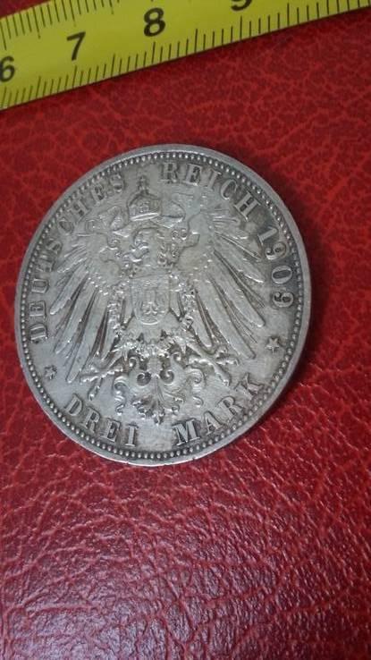 3 марки 1909 года, фото №4