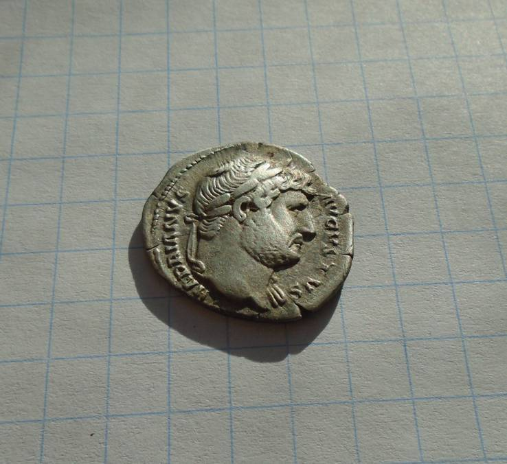 Денарий Адриана