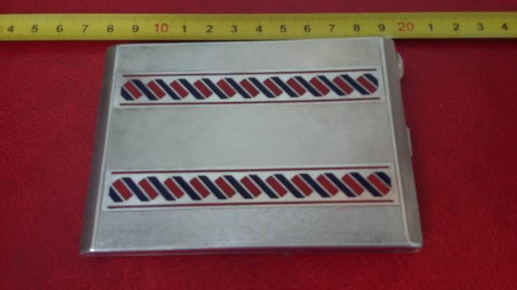 Элитный портсигар в эмалях и позолоте, фото №2