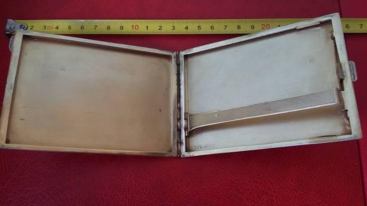 Элитный портсигар в эмалях и позолоте, фото №3