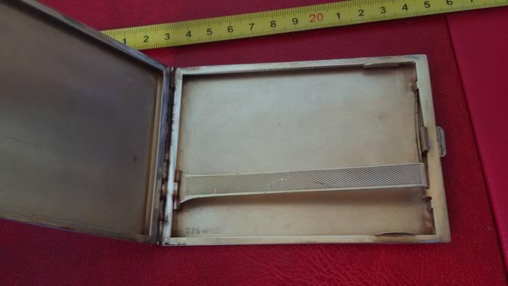 Элитный портсигар в эмалях и позолоте, фото №4