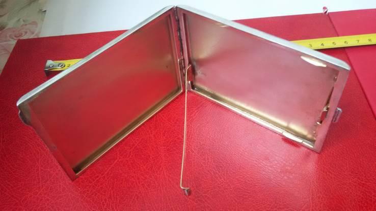 Элитный портсигар в эмалях и позолоте, фото №5