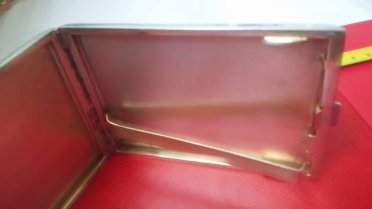 Элитный портсигар в эмалях и позолоте, фото №7
