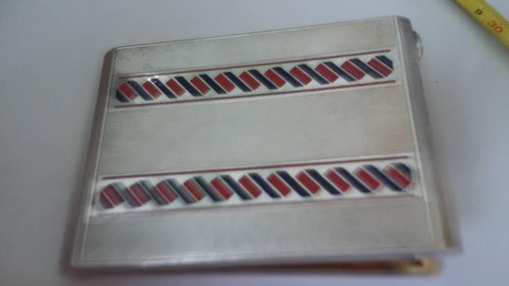 Элитный портсигар в эмалях и позолоте, фото №9