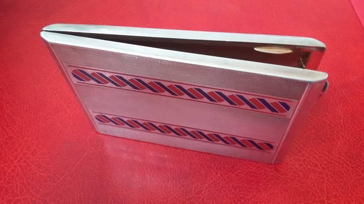 Элитный портсигар в эмалях и позолоте, фото №12