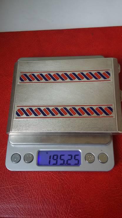 Элитный портсигар в эмалях и позолоте, фото №15