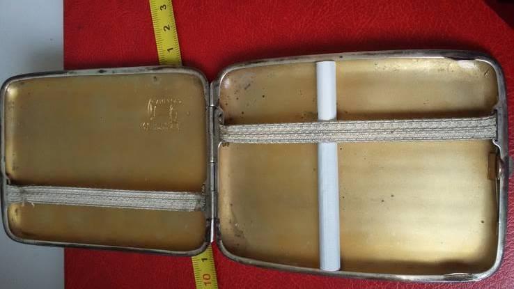 Портсигар швейцарский  выгнутый, фото №11