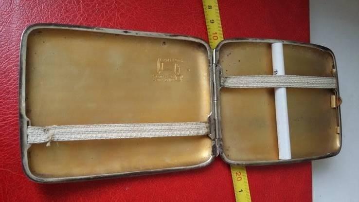 Портсигар швейцарский  выгнутый, фото №12