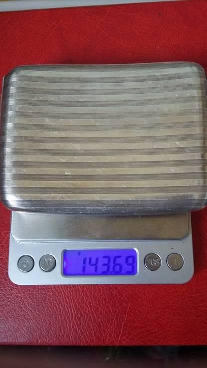 Портсигар швейцарский  выгнутый, фото №18