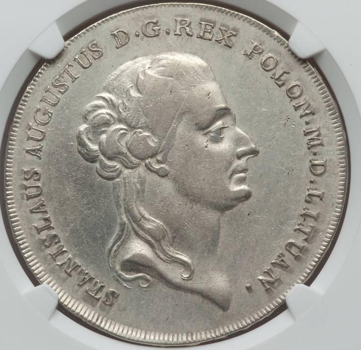 Польский Талер 1788 г.  Станислав Август. Слаб